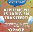Alphens.nl is jarig en trakteert op suikerspinnen!