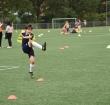 Voetballen bij ARC voor kinderen van Junis