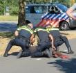 Scooterrijder verzet zich bij aanhouding na ongeval