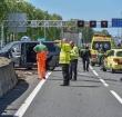 Verkeersdrukte bij Alphen door ernstig ongeval A12