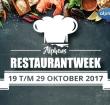 Alphens Restaurantweek van 19 tot en met 29 oktober
