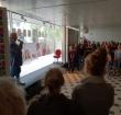 Opening tentoonstelling Media & Design-leerlingen in V&D-pand