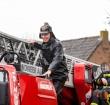 Verrassing tijdens laatste dienst brandweerman Leo