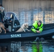 Zoektocht naar vermiste Leimuidenaar in Rijnhaven