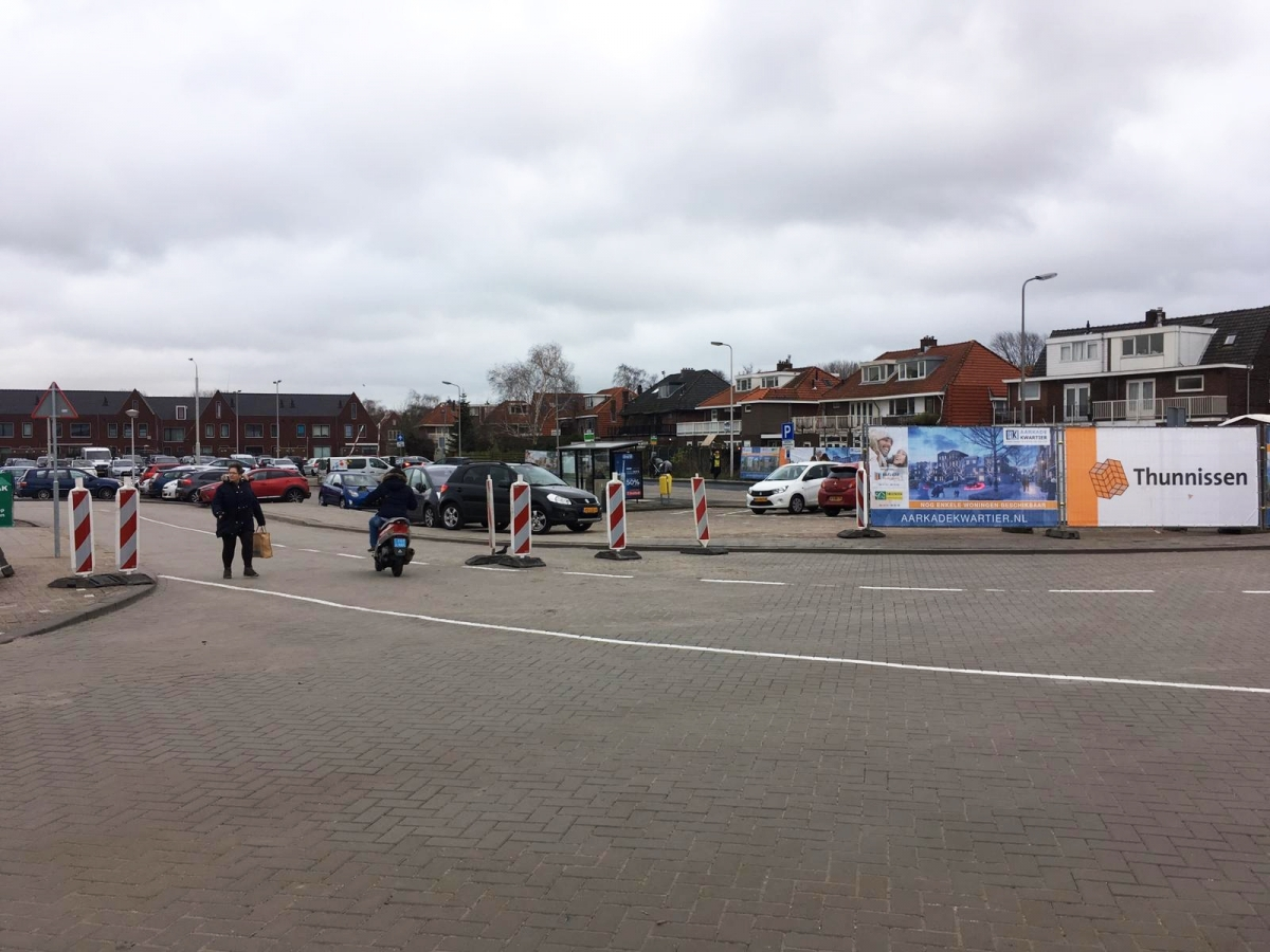 Nieuwe hoofdroute over Aarplein zondag van kracht