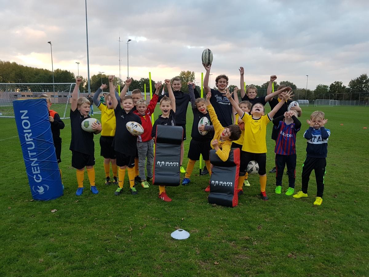 Steeds meer nieuwe leden voor Rugby Club Alphen