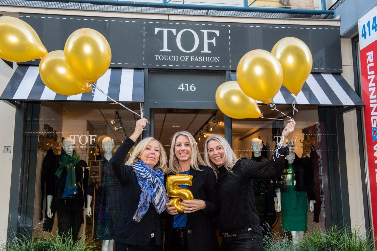 TOF bestaat alweer 5 jaar en daarom is het feest!
