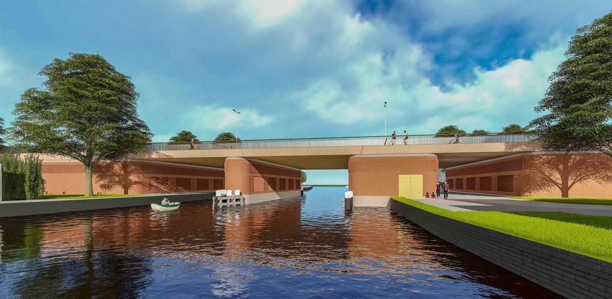Zo komt de nieuwe Steekterbrug eruit te zien