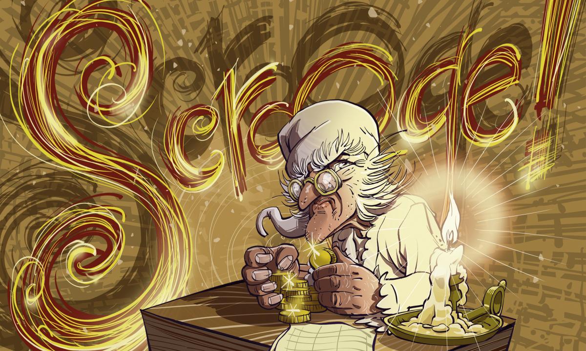 Auditie kinderen voor kerstvoorstelling Scrooge!