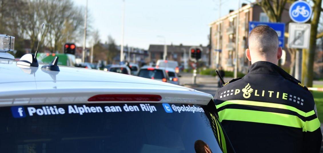 Grote politiecontrole bij Oranje Nassausingel