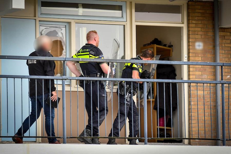 Man aangehouden in woning Venusstraat