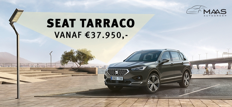 SEAT Tarraco doet binnenkort Maas Autogroep aan