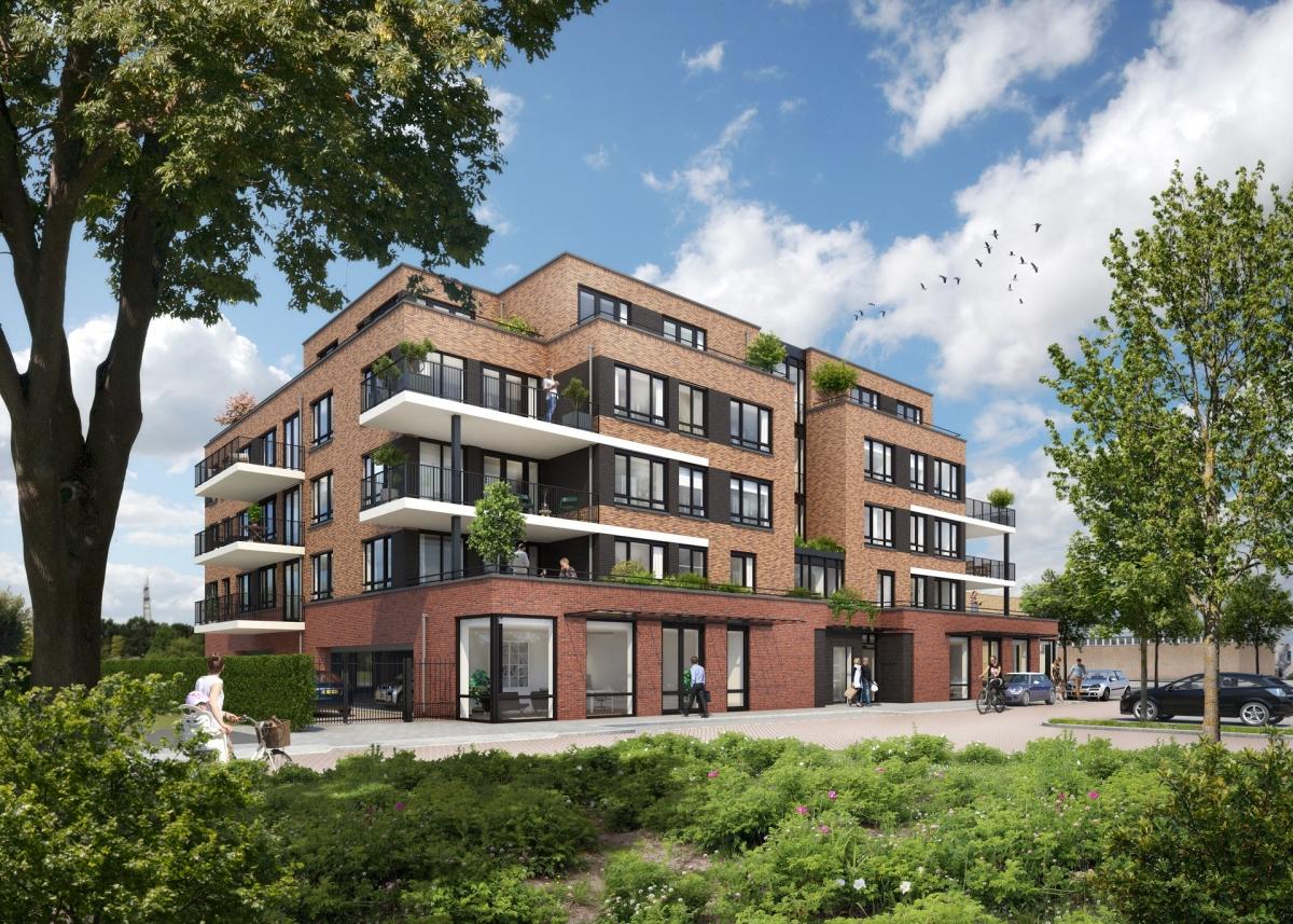 Verkoop 18 appartementen en 3 penthouses in Hazerswoude-Rijndijk