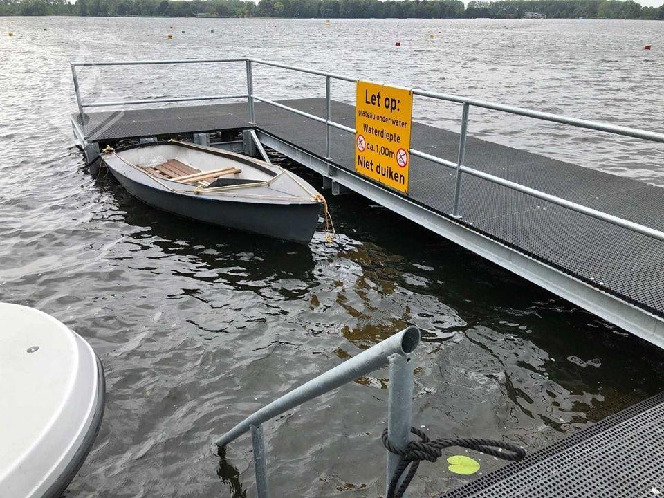 Afgemeerd bootje op Zegerplas in beslag genomen