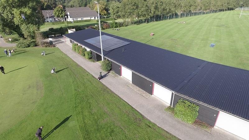 Start verkoop panelen zonneparken Rijnvicus en golfclub