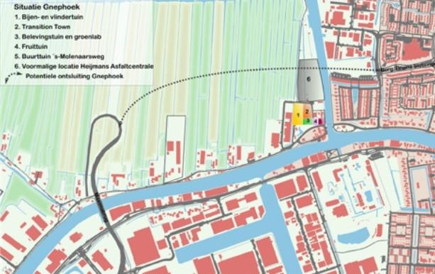 Gnephoek, Heuvelweg en Oude Rijn Zone mogelijke locaties voor woningbouw Alphen-Stad
