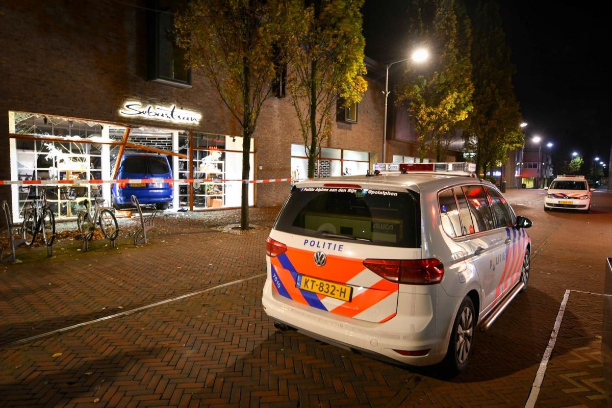 Politie op zoek naar getuigen van ramkraak Sebastian