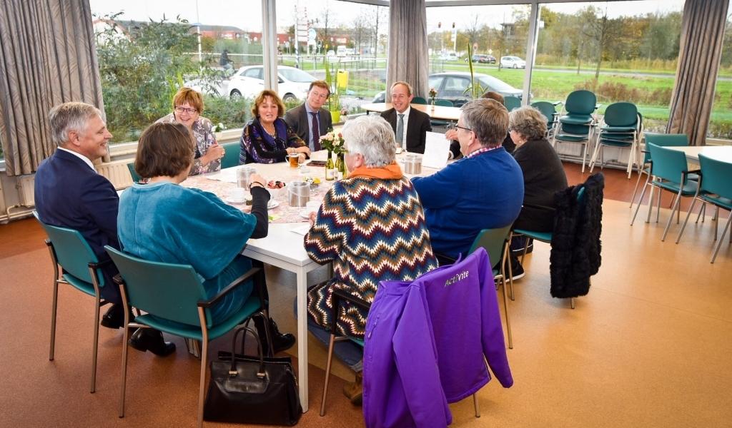 Kamerleden op werkbezoek in Alphen aan den Rijn