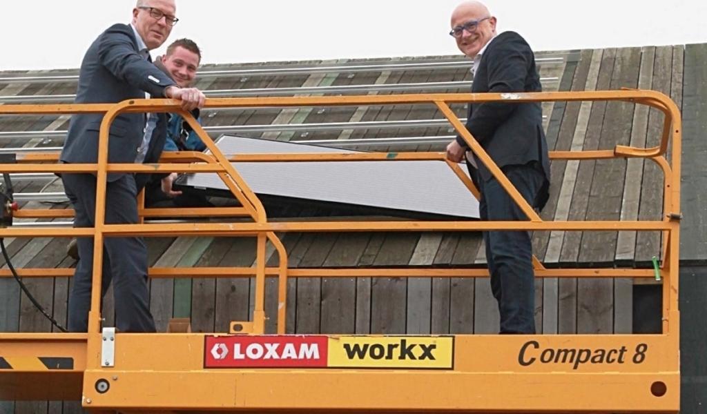 Gemeente plaatst 133 zonnepanelen op het Ecopark