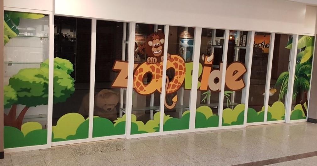 Kinderattractie Zooride opent in winkelcentrum Aarhof