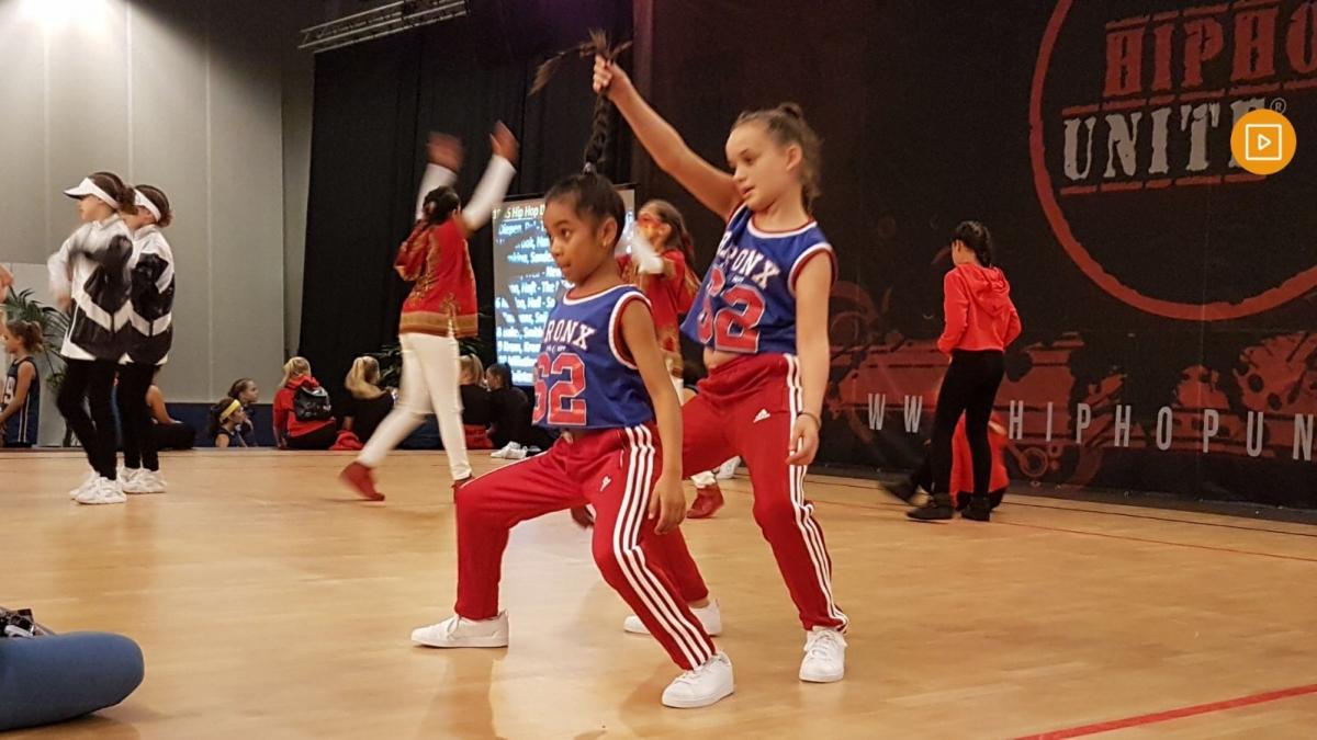 Alphens duo vijfde van de wereld op WK hiphop