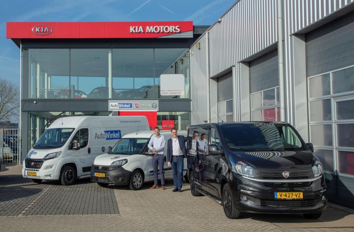 AutoWinkel is nu ook Fiat Professional dealer!