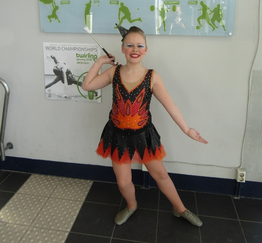 Alphense Kimberley gooit hoge ogen op WK Twirl