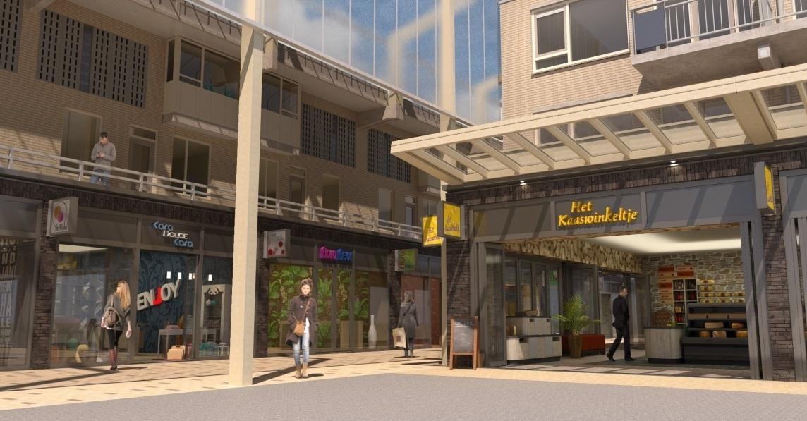 Heropening winkelcentrum Herenhof op 10 november
