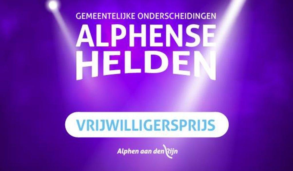 Stem nu op Alphense Vrijwilligershelden