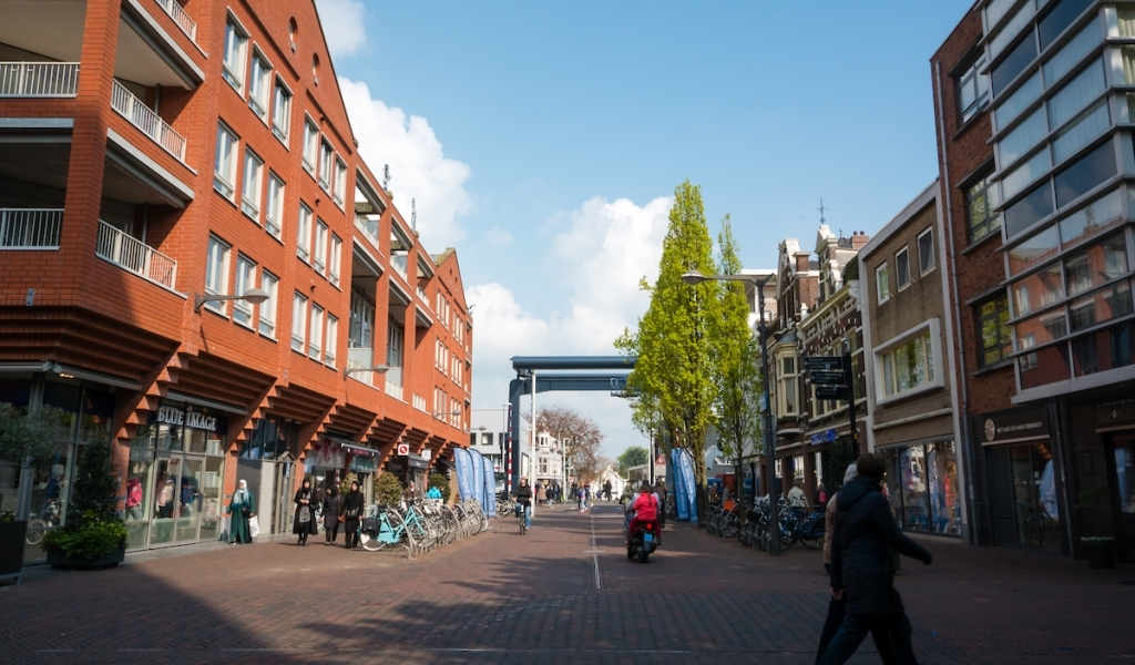 Volledige Alphense centrum nu een voetgangerszone