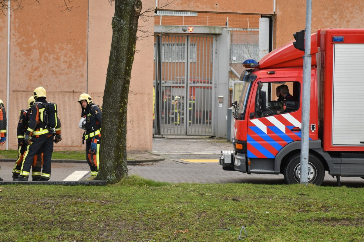 Gedetineerde sticht brand in cel Alphense gevangenis