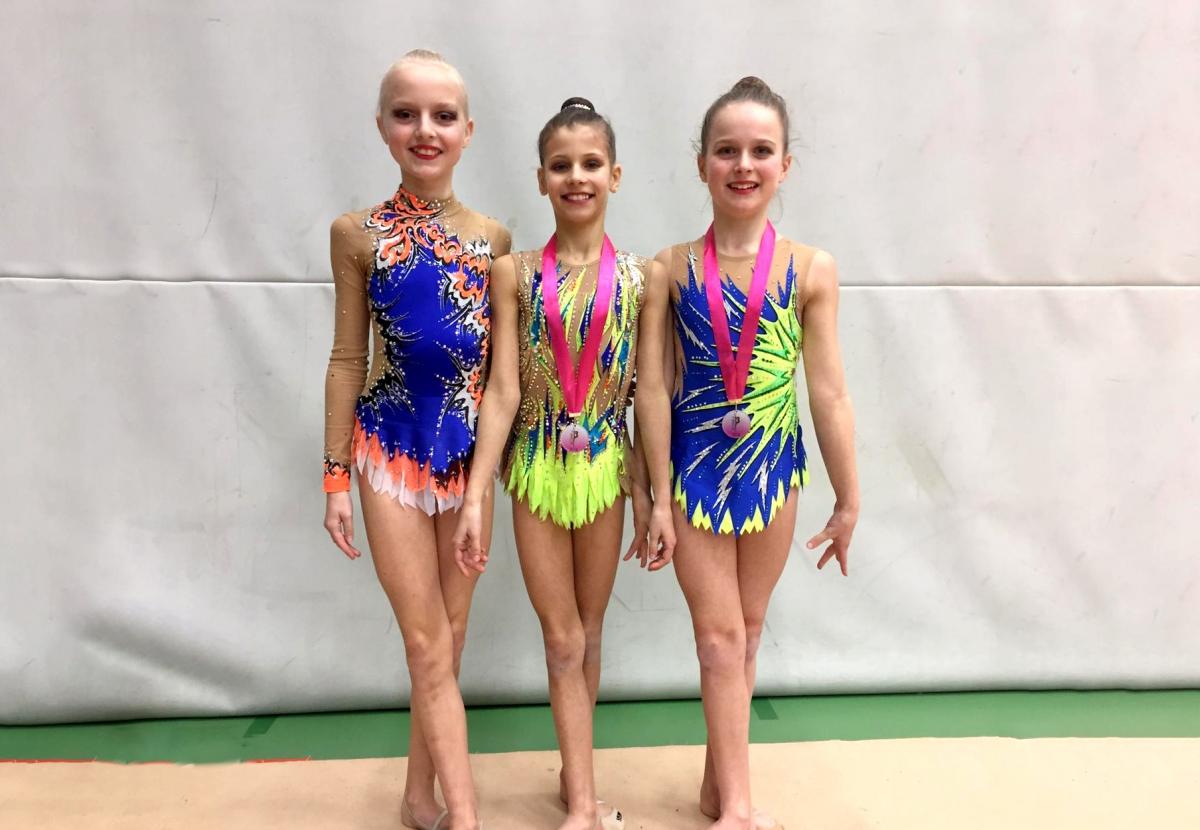 Winst voor ritmische gymnasten in Brussel