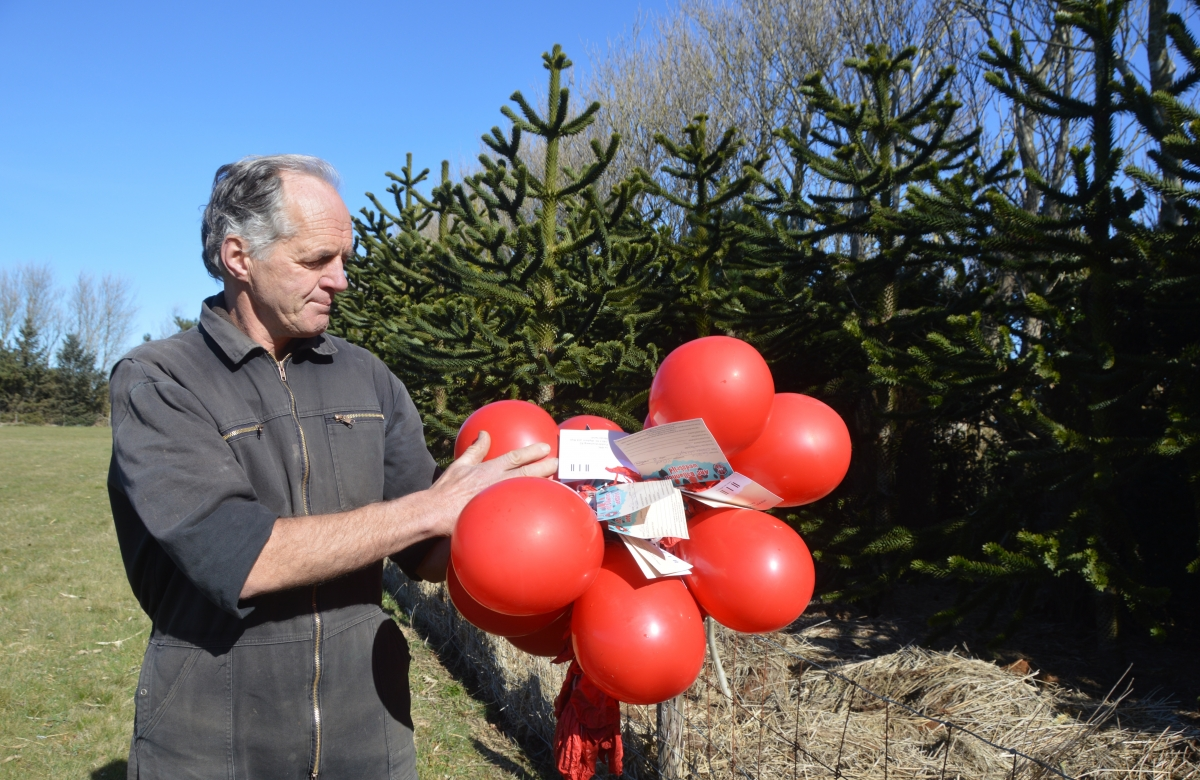 Inwoner Texel boos op ARC over opgelaten ballonnen
