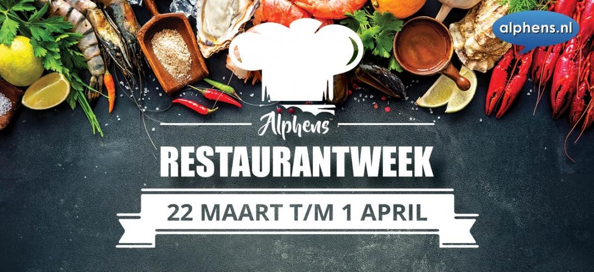 Al ruim 1200 couverts voor Alphens Restaurantweek