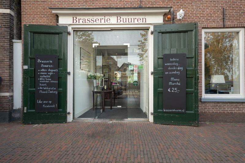 Brasserie Buuren in de Hooftstraat staat te koop