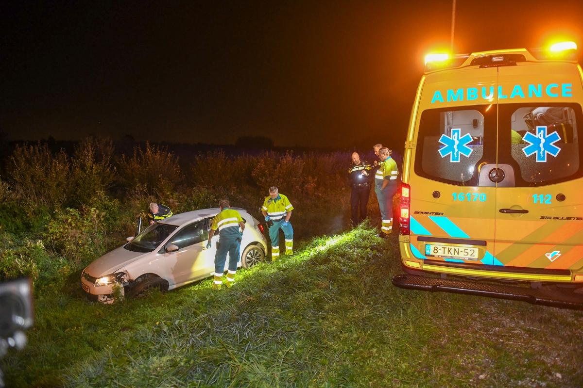 Gewonde bij eenzijdig ongeval op de N11