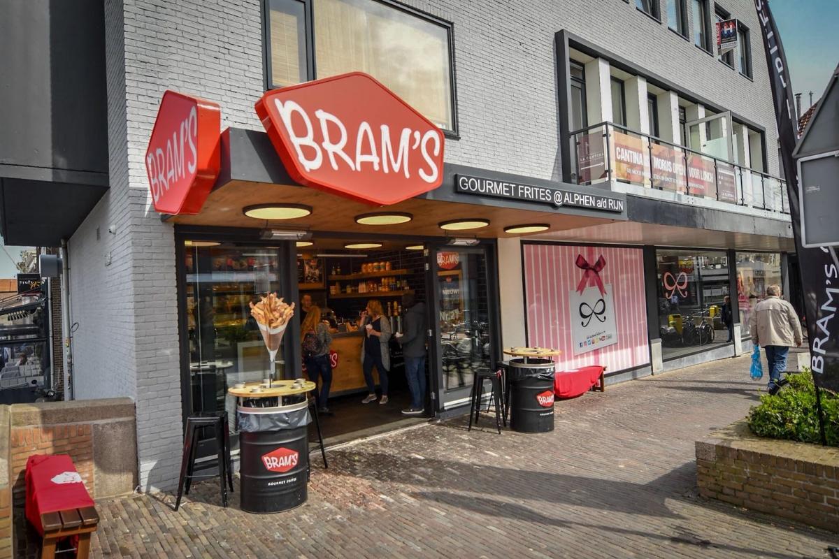 BRAMs trakteert Alphenaren niet op (bijna) gratis friet