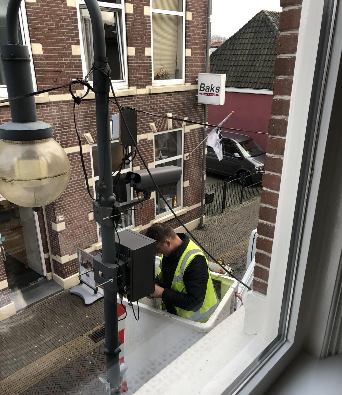 Extra cameras voor toegangscontrole centrumgebied