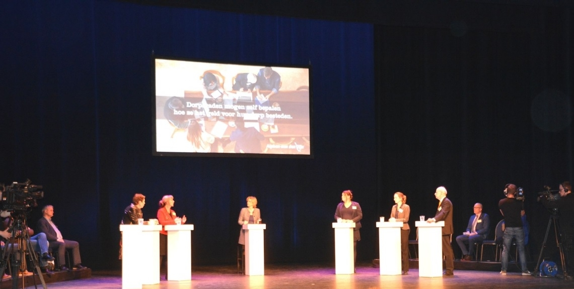 Lijsttrekkersdebat in Castellum over sociaal domein