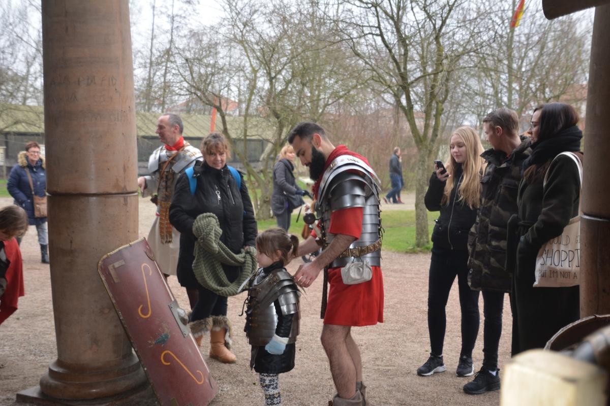Alphenaren vinden de weg naar Museumpark Archeon