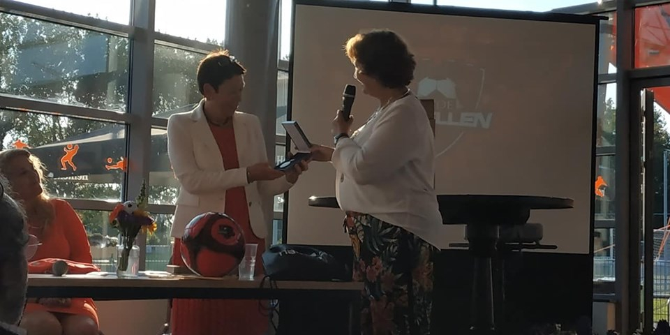 Voetbalvereniging Alphia ontvangt Koninklijke Erepenning