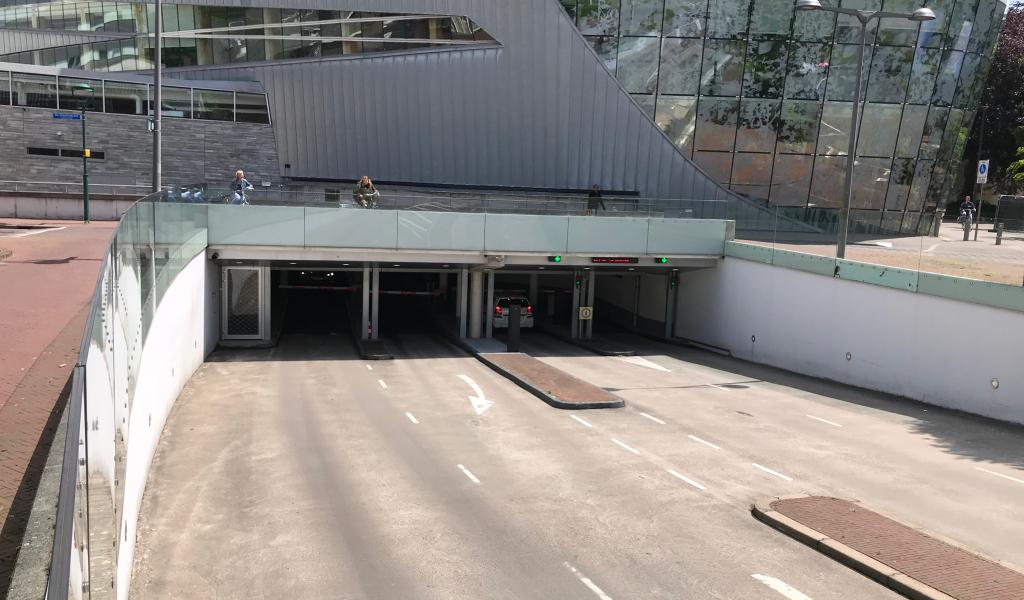 Werkzaamheden aan parkeergarage Castellum