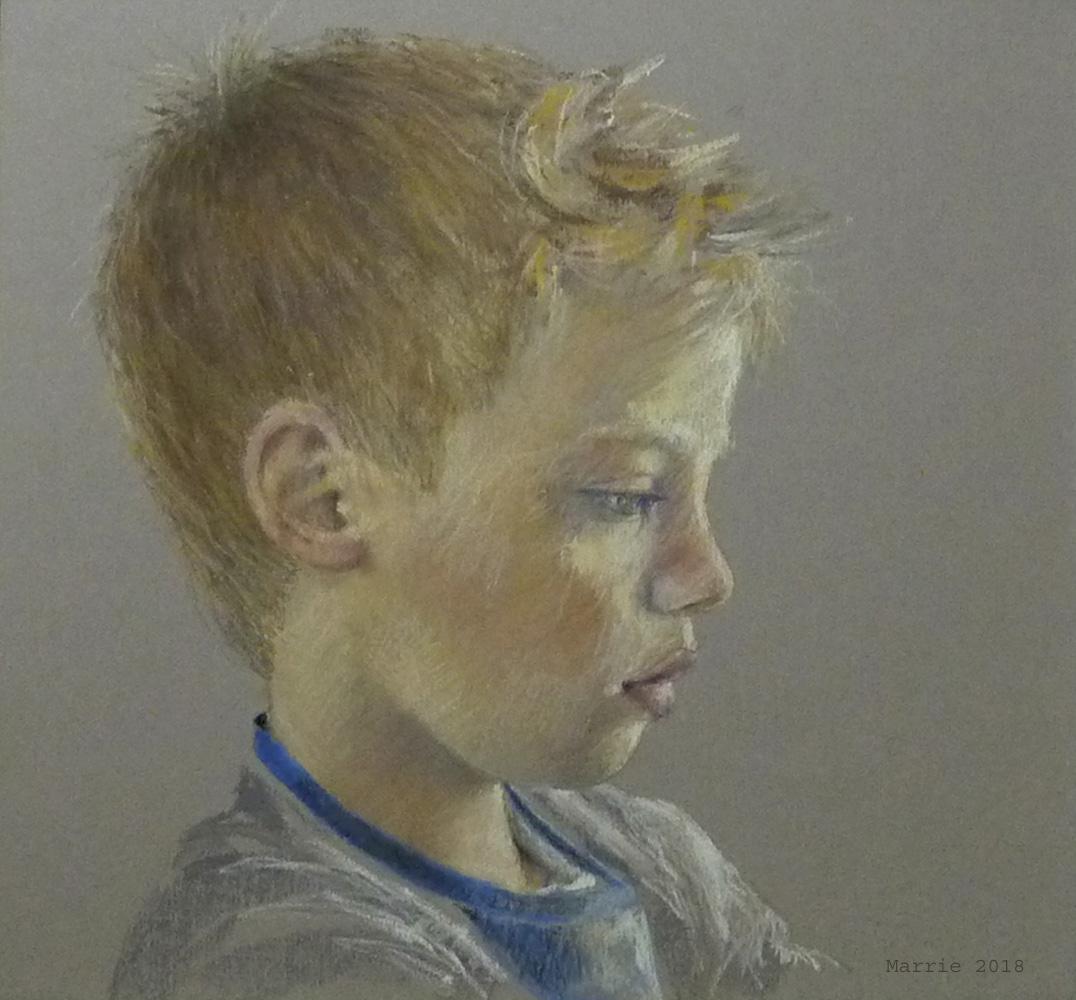 Expositie tekeningen van Marrie Scheltes in Parkvilla