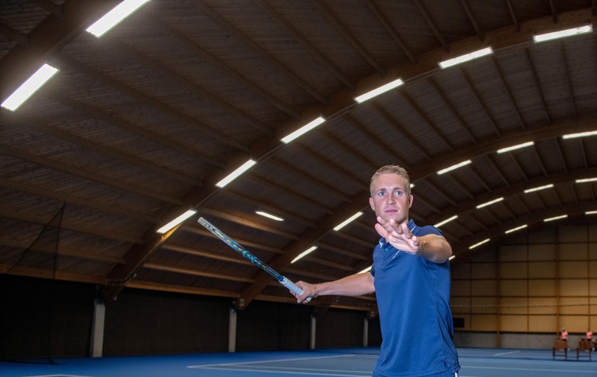 Jelle: Alphen is wat mij betreft een echte tennisstad