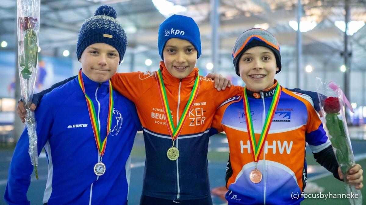Sem Spruit wint brons op Nationaal Kampioenschap