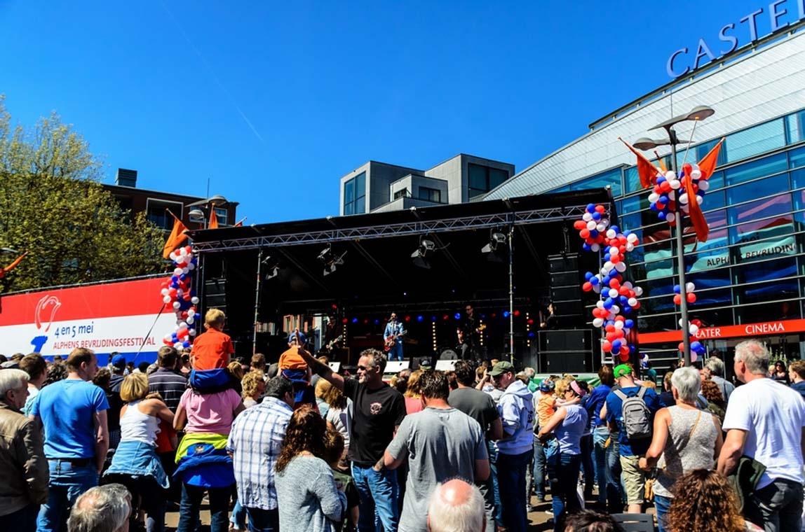 Volgend jaar gewoon weer Alphens Bevrijdingsfestival