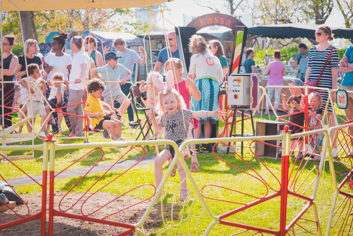 Toost Festival Alphen, ook voor kleine bourgondiërs is er genoeg te beleven