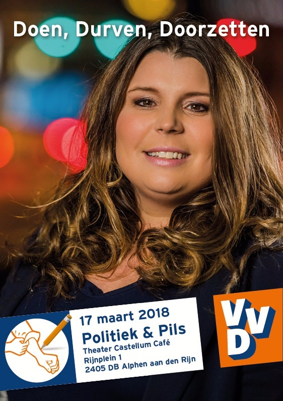 Wonen, meer doen!, Politiek & Pils café van de VVD