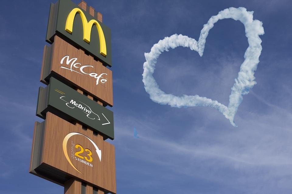 Opnieuw Valentijnsdiners bij McDonalds in Alphen