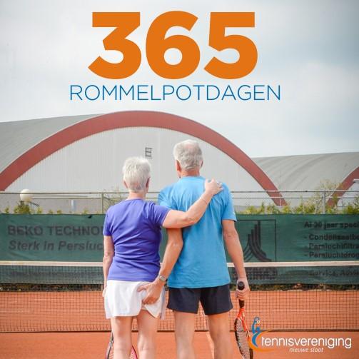 Tennissen in Alphen? Probeer het gewoon een maandje!